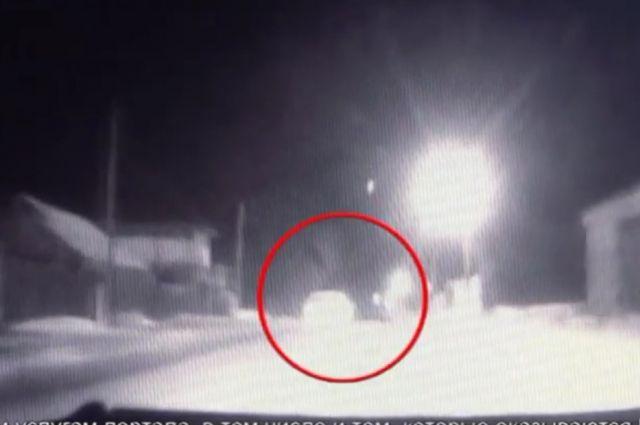 Видео: в Новотроицке ночью задержан пьяный водитель