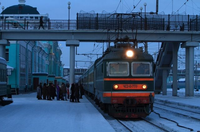 Омские пригородные электрички меняют время движения