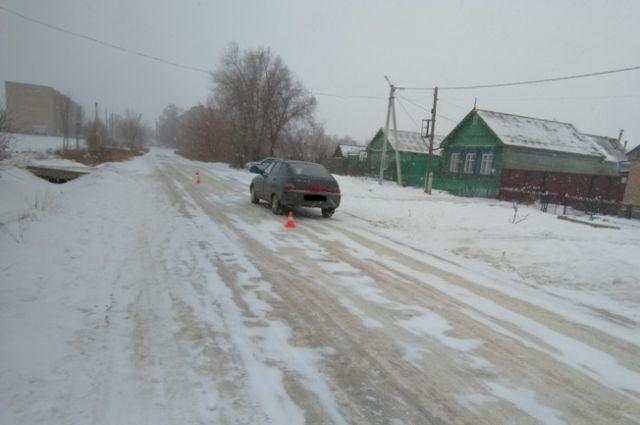 В Сорочинске водитель «ВАЗа» сбил 67-летнюю пенсионерку