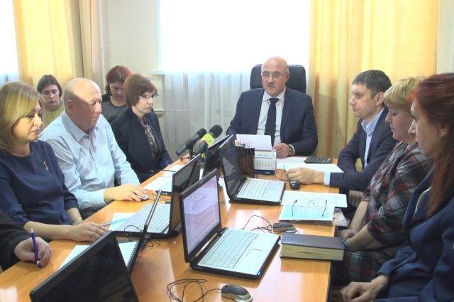 В областном центре прошло заседание Региональной энергетической комиссии.