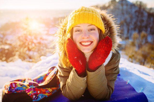 Как увлажнить кожу лица в мороз?