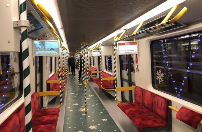 Интересно, а Санту можно будет встретить в польском метро?