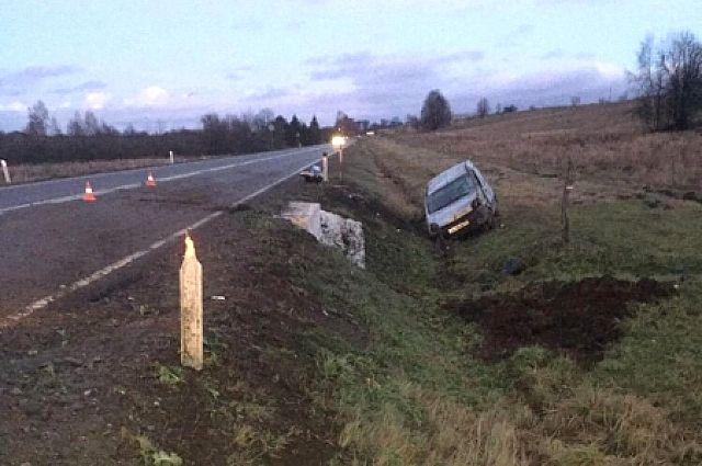 9-месячная девочка пострадала в аварии под Черняховском.
