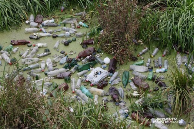 30 предприятий сбрасывают свои стоки в реку.