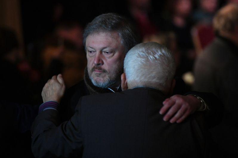 Председатель Федерального политического комитета партии «Яблоко» Григорий Явлинский.