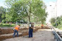Работы по программе «Формирование комфортной городской среды» в Смоленске.