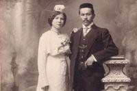 Татары-молодожены в начале XX века.