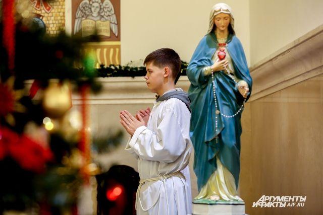 В Казани немцы регулярно посещают лютеранскую церковь Святой Екатерины