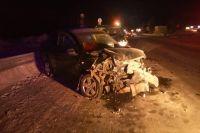В Ноябрьске в двойном ДТП пострадали два человека