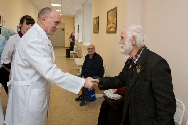 Глава региона неизменно уделяет большое внимание развитию системы здравоохранения, при этом учитывает мнение не только врачей, но и пациентов.