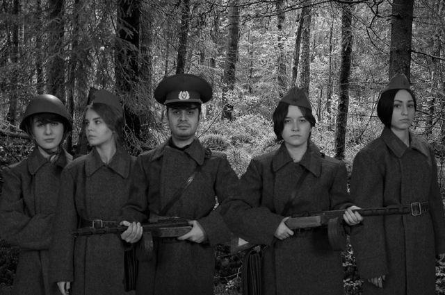 Активисты клуба участвовали в иисторической фотосессии «Великая Отечественная война в лицах».