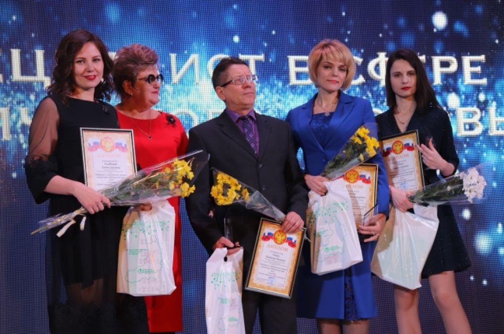 Семь врачей стали лучшими в самой престижной номинации – «За верность профессии».