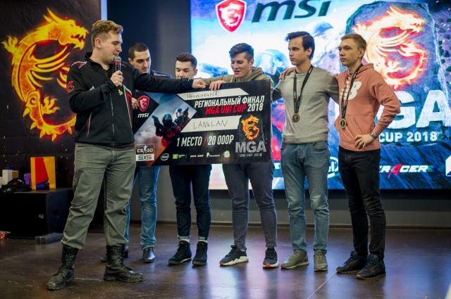 Чемпионат по Counter-Strike.