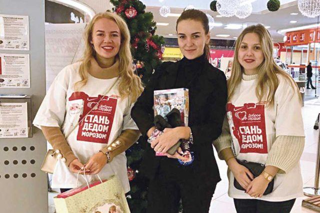 Хотя акция стартовала совсем недавно, 1 декабря, в копилке у волонтёров уже много готовых подарков.
