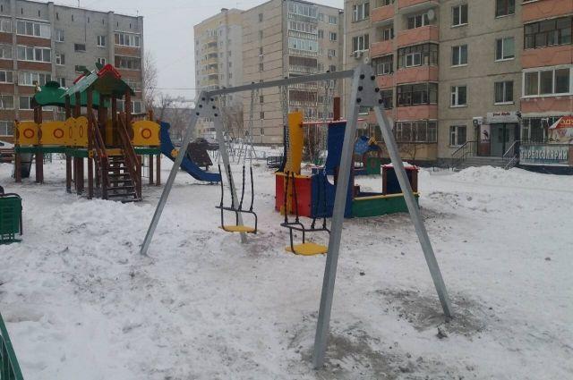 В Тюмени на улице 9 Января появится новая детская площадка