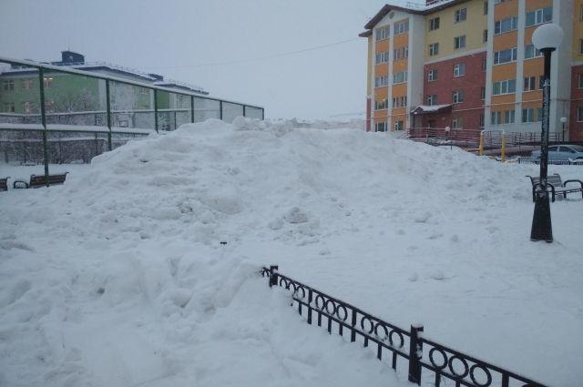 В Салехарде в отношении УК, не убирающих снег, составлены четыре акта