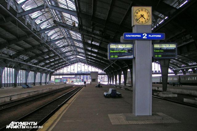 Перед Новым годом назначен дополнительный поезд между Адлером и Калининградом.
