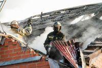 Пожар в Центральном округе