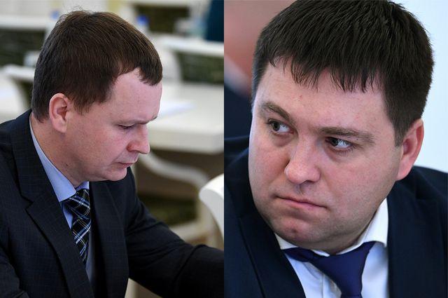 Александр Цветков и Сергей Тарасов