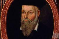Портрет Нострадамуса. Работа его сына Сезара.