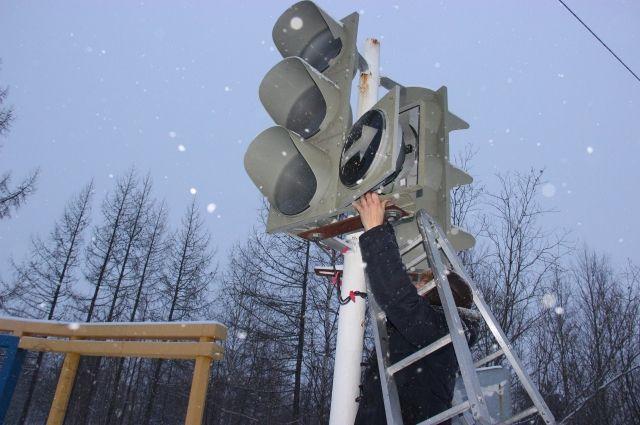 В четверг, 13 декабря, отключат один светофор