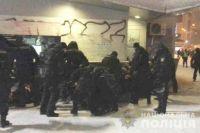 В Киеве накануне матча Шахтер-Лион полиция задержала 30 человек