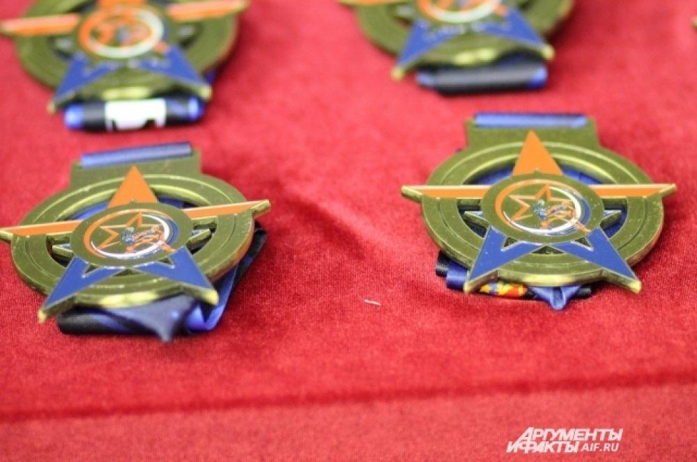 Всего за медали высшего достоинства боролись более 200 спортсменов.