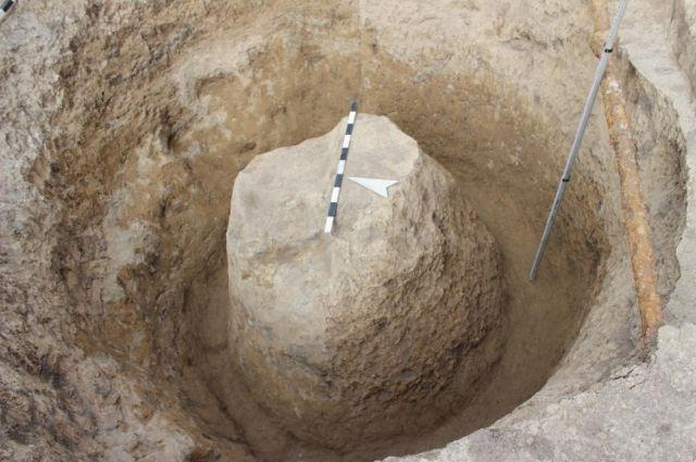Предмет нашли на месте древнего захоронения.