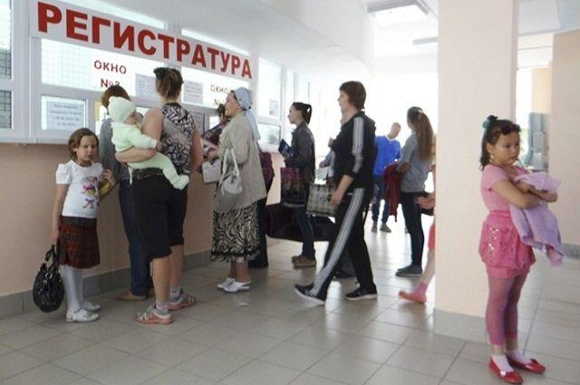 Поликлиника рассчитана на 200 посещений в смену и будет обслуживать примерно 10,5 тысяч детей