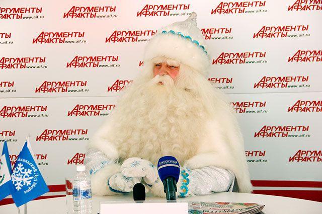 Байкальский Дед Мороз приготовил сюрпризы для своих гостей.