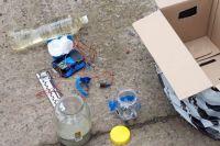 Обнаруженная в рейсовом автобусе коробка с самодельной взрывчаткой пролежала в багажнике несколько дней.