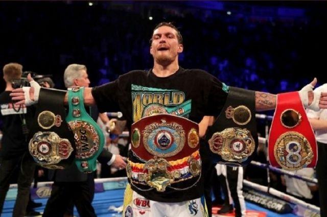 Александра Усика признали лучшим боксером мира 2018 года по версии Sports Illustrated.