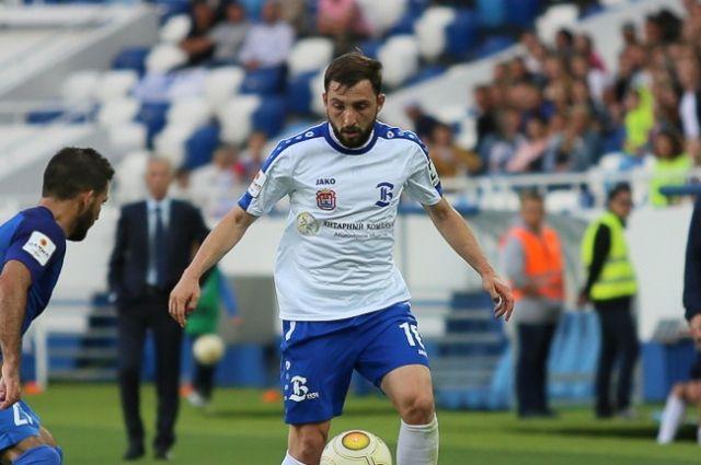 Ника Дзаламидзе провел за клуб 13 матчей.