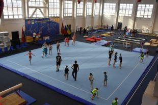 В Оренбурге торжественно открыт Центр спортивной гимнастики и акробатики.