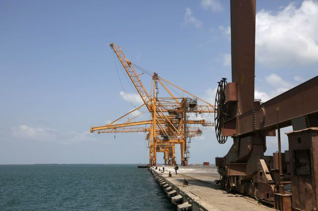 Йеменский порт Ходейда