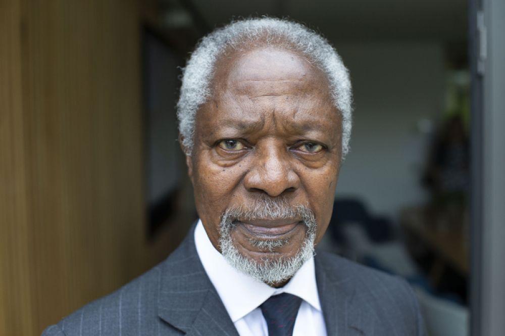 18 августа ушел из жизни 80-летний экс-генсекретарь ООН, лауреат Нобелевской премии мира Кофи Аннан.