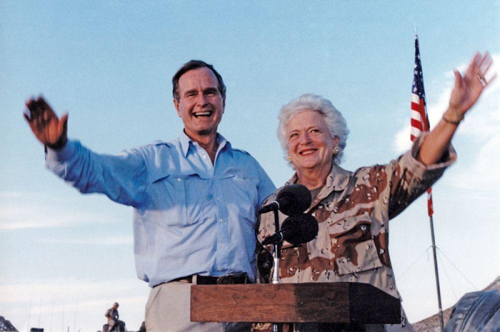 17 апреля в возрасте 92 лет ушла из жизни экс-первая леди Барбара Буш, супруга 41-го президента США. Сам Джордж Буш-старший умер спустя семь месяцев, 1 декабря. Ему было 94 года.