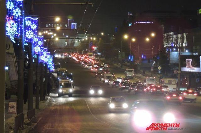 Новогодний Омск