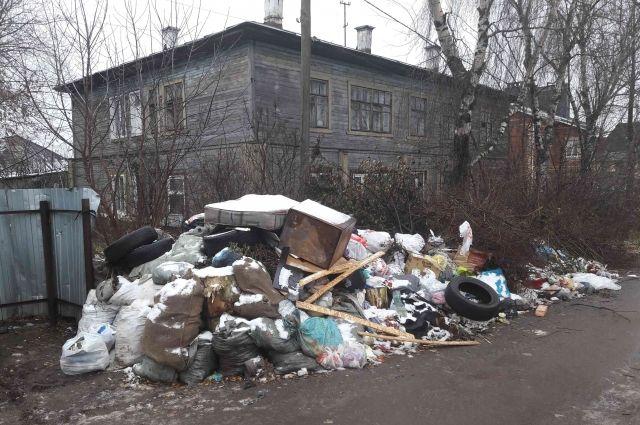 Управляющая компания запустила ситуацию с мусором.