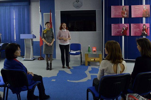 Выставку в парламенте открыла Елена Кашкарова