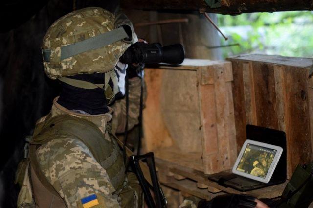 Штаб ООС фиксирует усиление обстрелов близ Мариуполя