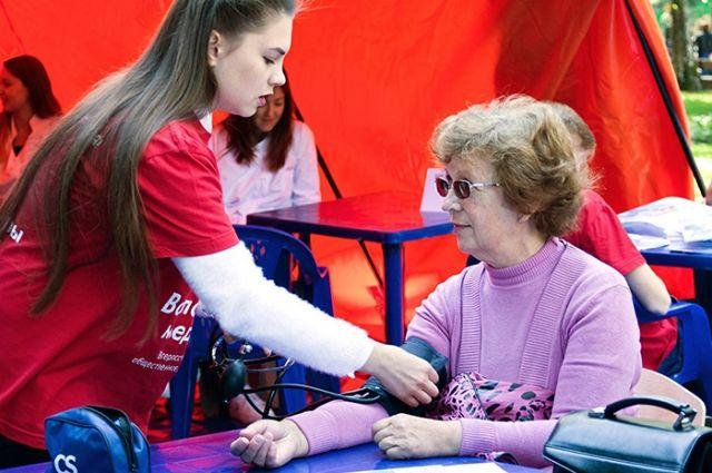 Волонтеры-медики приняли участие во всероссийском конкурсе