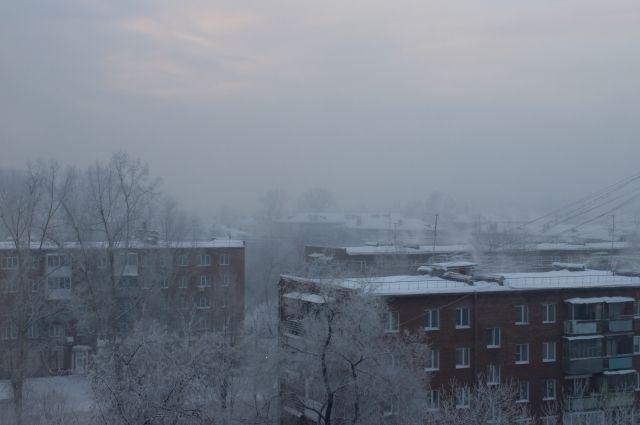 В Оренбуржье приходит морозная погода.