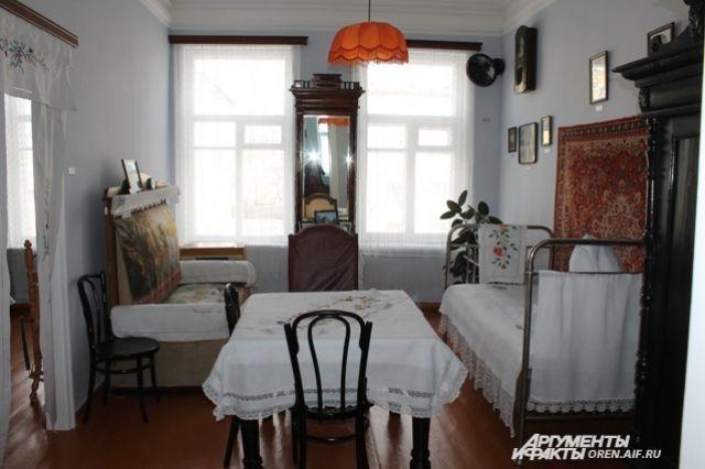 В Оренбурге находится музей-квартира Валентины и Юрия Гагариных.