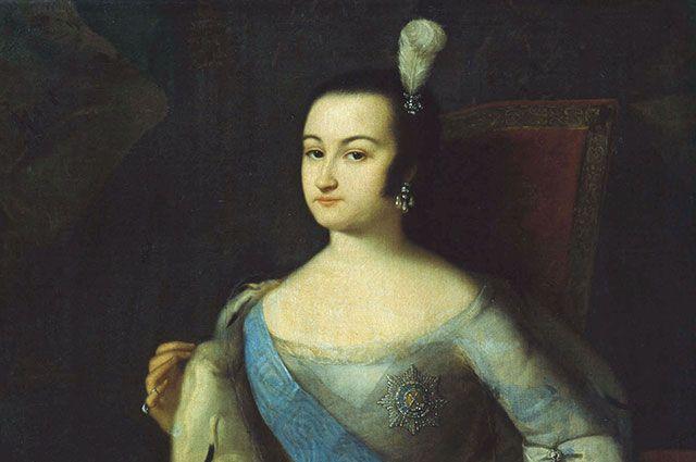 Анна Леопольдовна. Портрет художника Луи Каравака, ок. 1740 г.