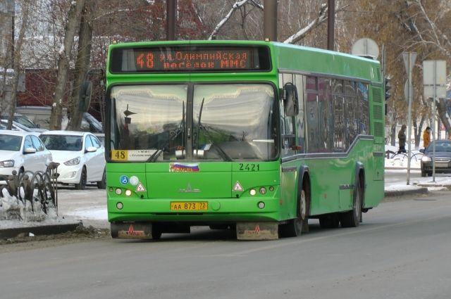 В новогодние праздники автобусы Тюмени будут ездить по воскресному графику