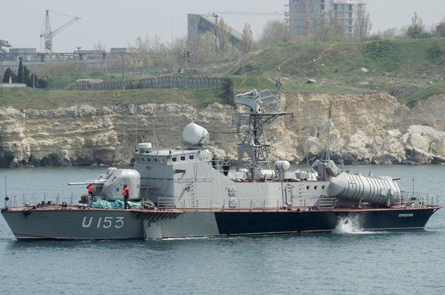 Ракетный катер «Прилуки» (U153) Военно-морских сил Украины.