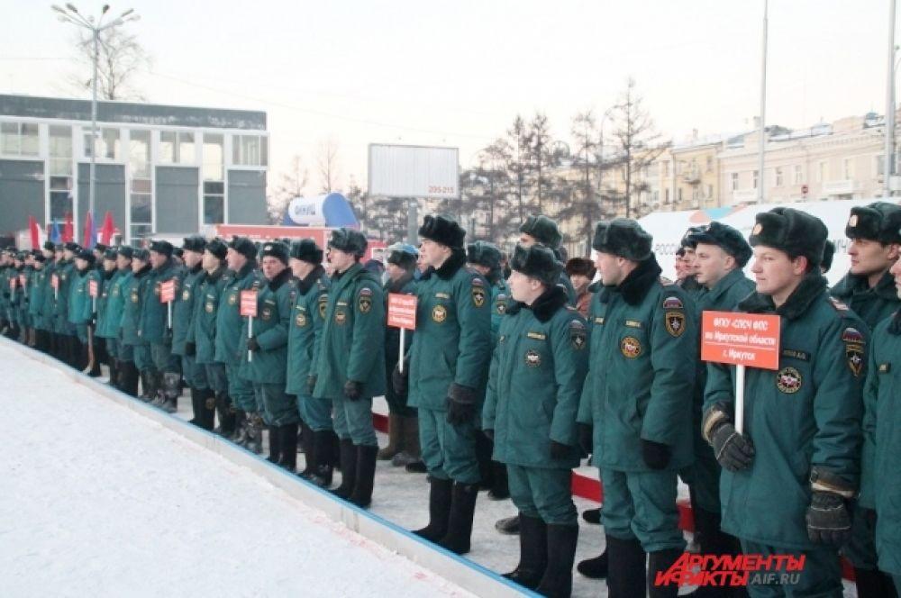 Участие в них приняли команды от 12 пожарно-спасательных гарнизонов.