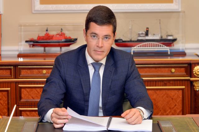 Губернатор Ямала предложил волонтерам встречаться ежегодно