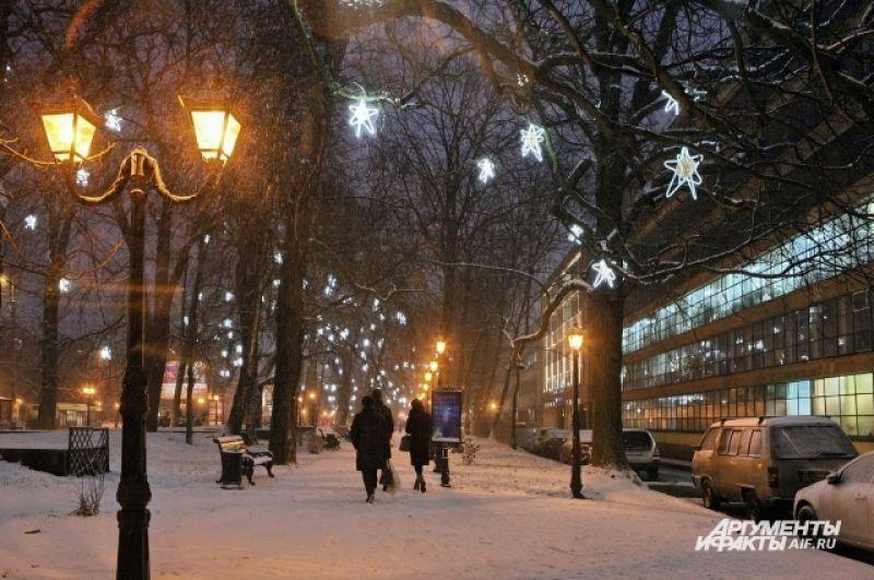 Городские улицы Калининграда - словно из сказки.